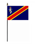Royal Electrical and Mechanical Engineers Hand Flag - Small.